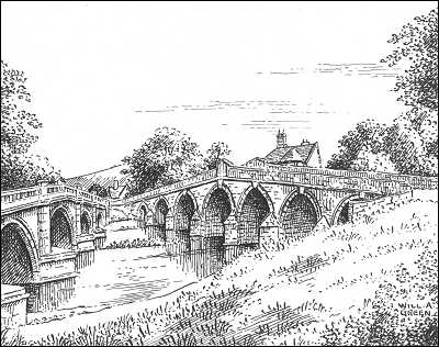 Atcham bridge, Shropshire