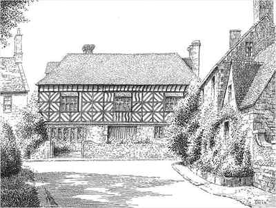 Badsey, Manor House, Worcestershire