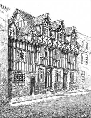 Bewdley, The Baliff's House, Worcestershire
