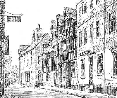 Bewdley, High Street, Worcestershire