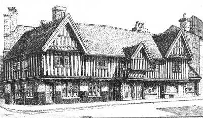 the old crown birmingham history maps