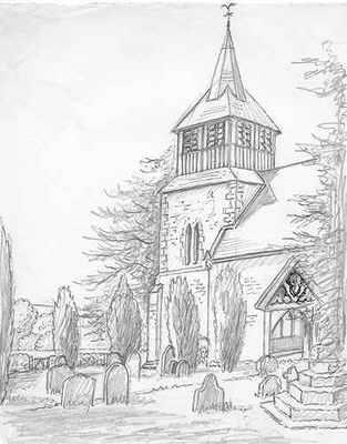 Bitterley church shropshire