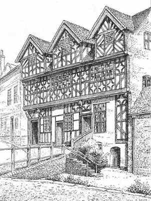 Bishop Percy's House, Bridgnorth, Shropshire