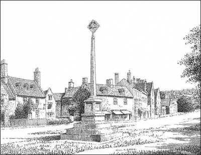 Stone Cross, Broadway, Worcestershire
