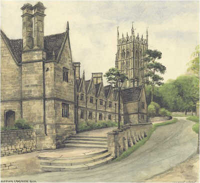 Chipping Campden, almshouses, Gloucestershire