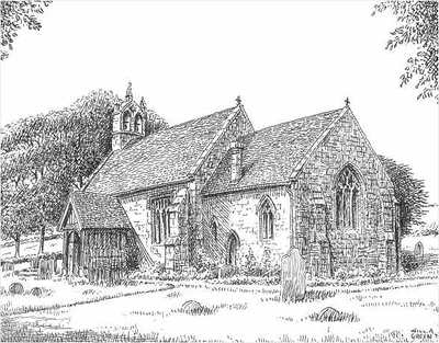 Cofton Hackett church, Worcestershire