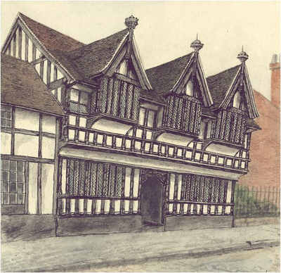 Ford's Hospital, Coventry, Warwickshire
