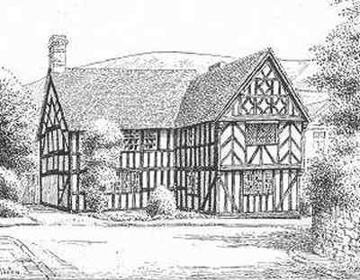 Church Stretton, timbered house, Shropshire