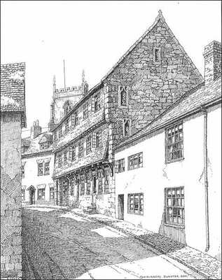 Dunster, The Nunnery, Somerset