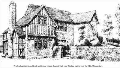 Studley, Mappleborough Green, Gorcott Hall, Warwickshire