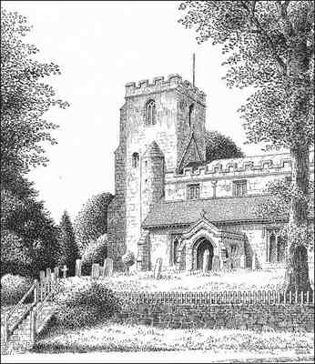 Hampton in Arden church, Warwickshire