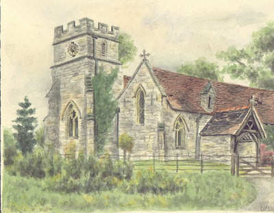 Haselor church, Warwickshire