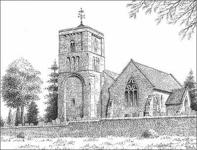 Higham on the Hill, church, Leicestershire