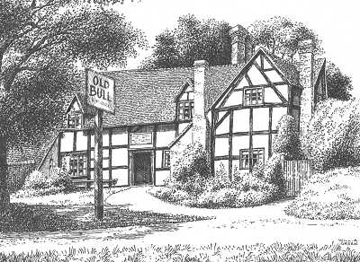 Inkberrow, The Old Bull Inn, Worcestershire