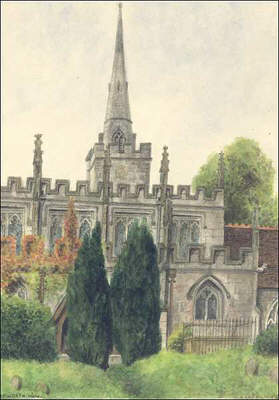 Lapworth church, Warwickshire