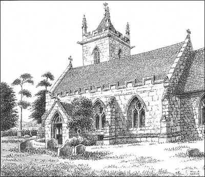 Lea Marston, church, Warwickshire