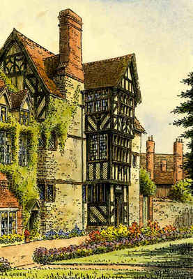 Ludlow, The Readers House, Shropshire