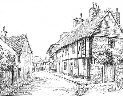 Lutterworth, Bell Street, Leicestershire