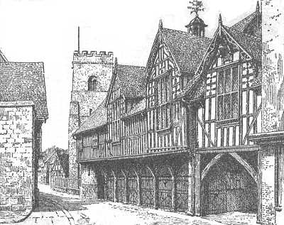 Much Wenlock, The Guildhall, Shropshire