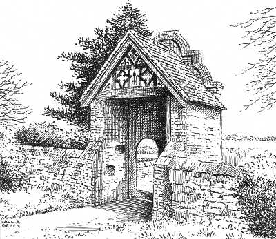 Nether Whitacre Hall Gatehouse, Warwickshire