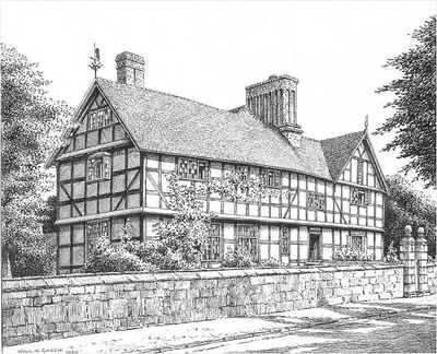 Ombersley, Dower House, Worcestershire