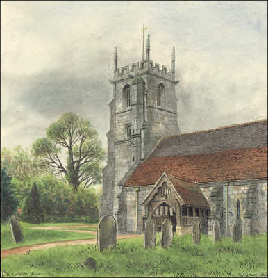 Packwood church, Warwickshire