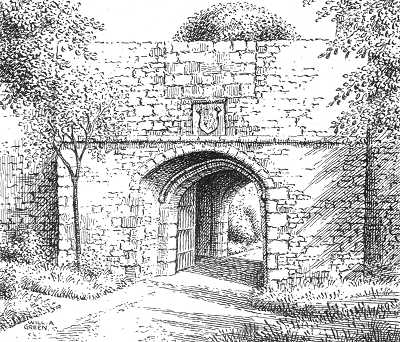 Rushall, Walsall, hall gatehouse, Staffordshire