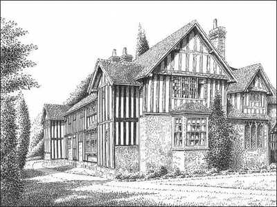 Solihull, Old Berry Hall, Warwickshire