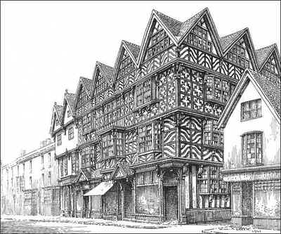 Stafford, The High House, Staffordshire