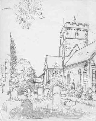 Stanton Lacy, St. Peter's Church, Shropshire