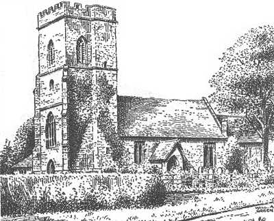 Strensham church, Worcestershire