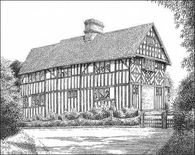 Temple Balsall, Magpie Hall, Warwickshire