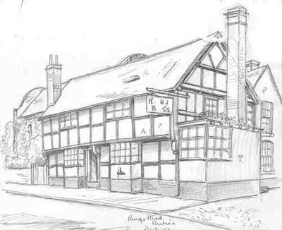 Tenbury Wells, Kings Head, Worcestershire