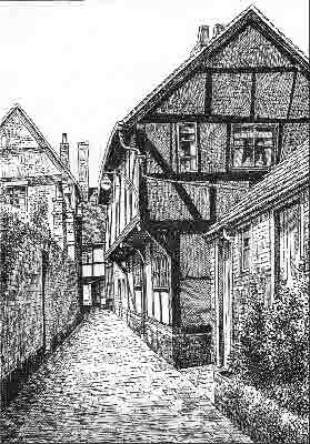 Tewkesbury, Lilley's Alley, Gloucestershire