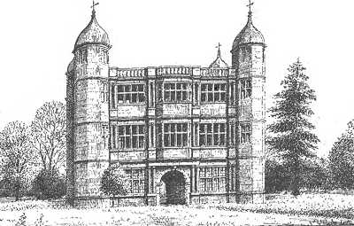 Tixall Hall, Staffordshire