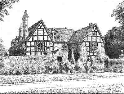 Old Village House Drawing Old House in The Village