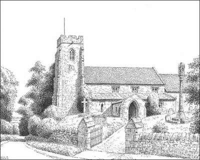 Ufton, church, Warwickshire