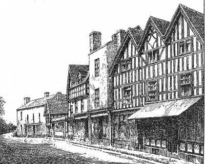 Upton on Severn, High Street, Worcestershire