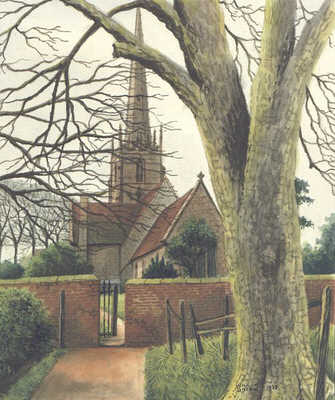 Yardley church, Birmingham