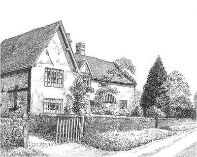 Yardley, cottages,Lea Hall Road, Birmingham